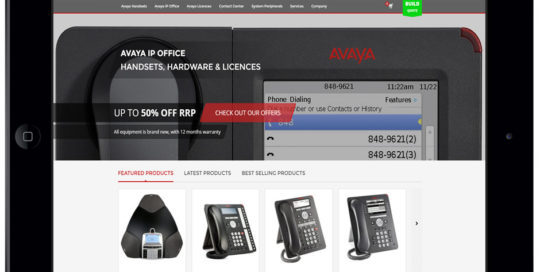 ip office direct gloucestershire web design