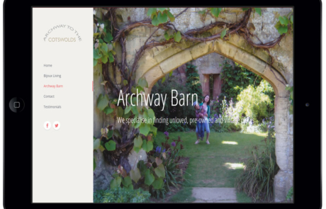 Archway to the barn