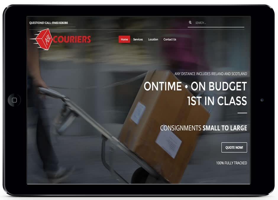 ABL Couriers Website