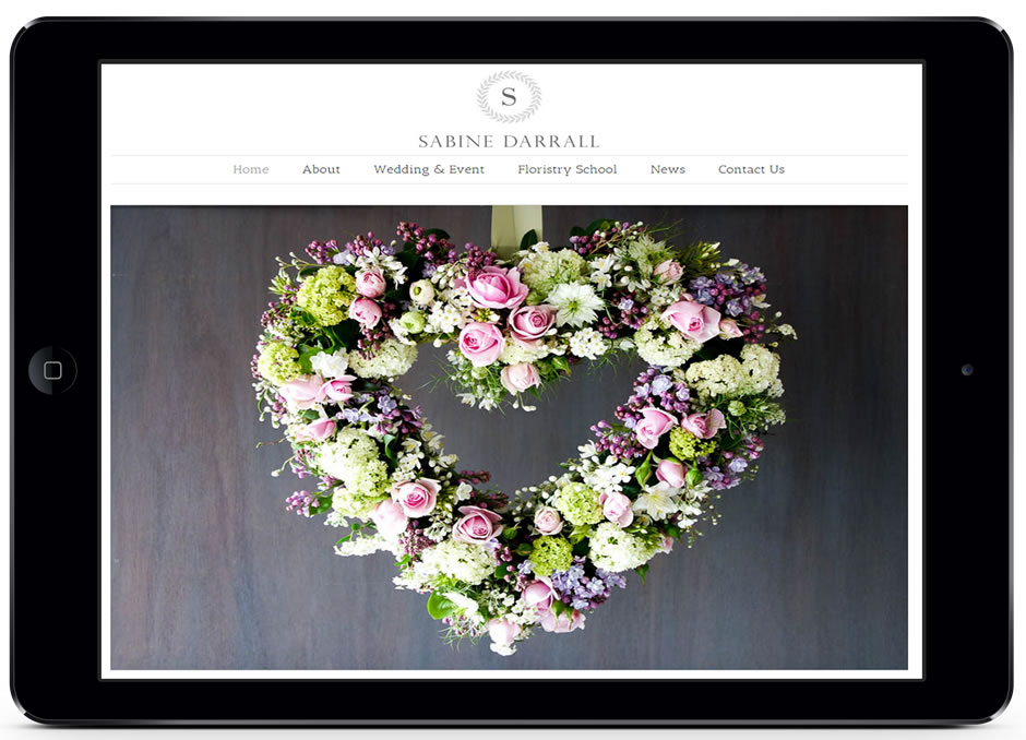 Sabine Darrall Website