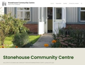 Stonehouse Community Centre Updated Website